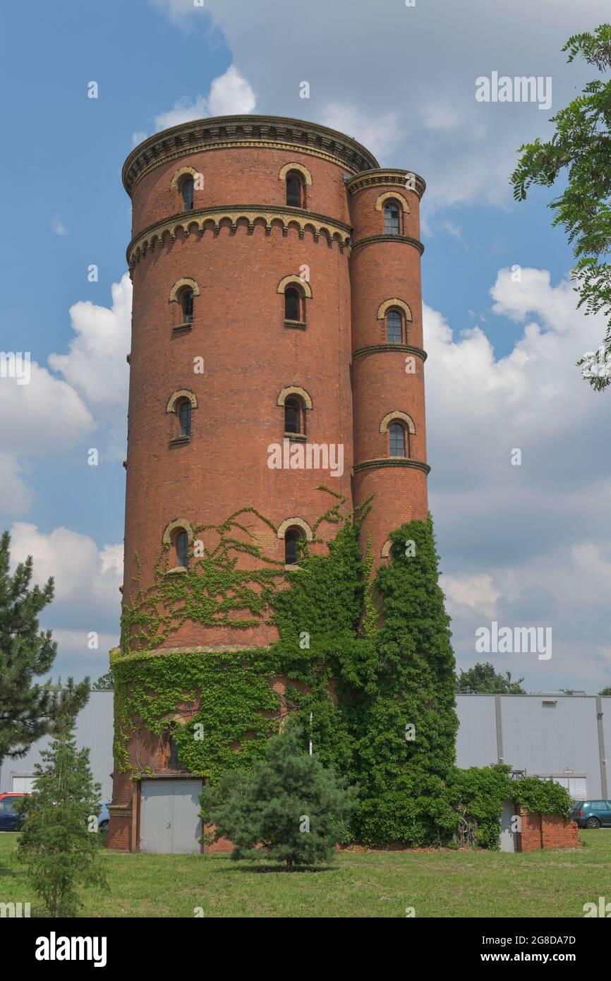 Wasserturm, Gaußstraße, Charlottenburgo, Berlín, Alemania Foto de stock
