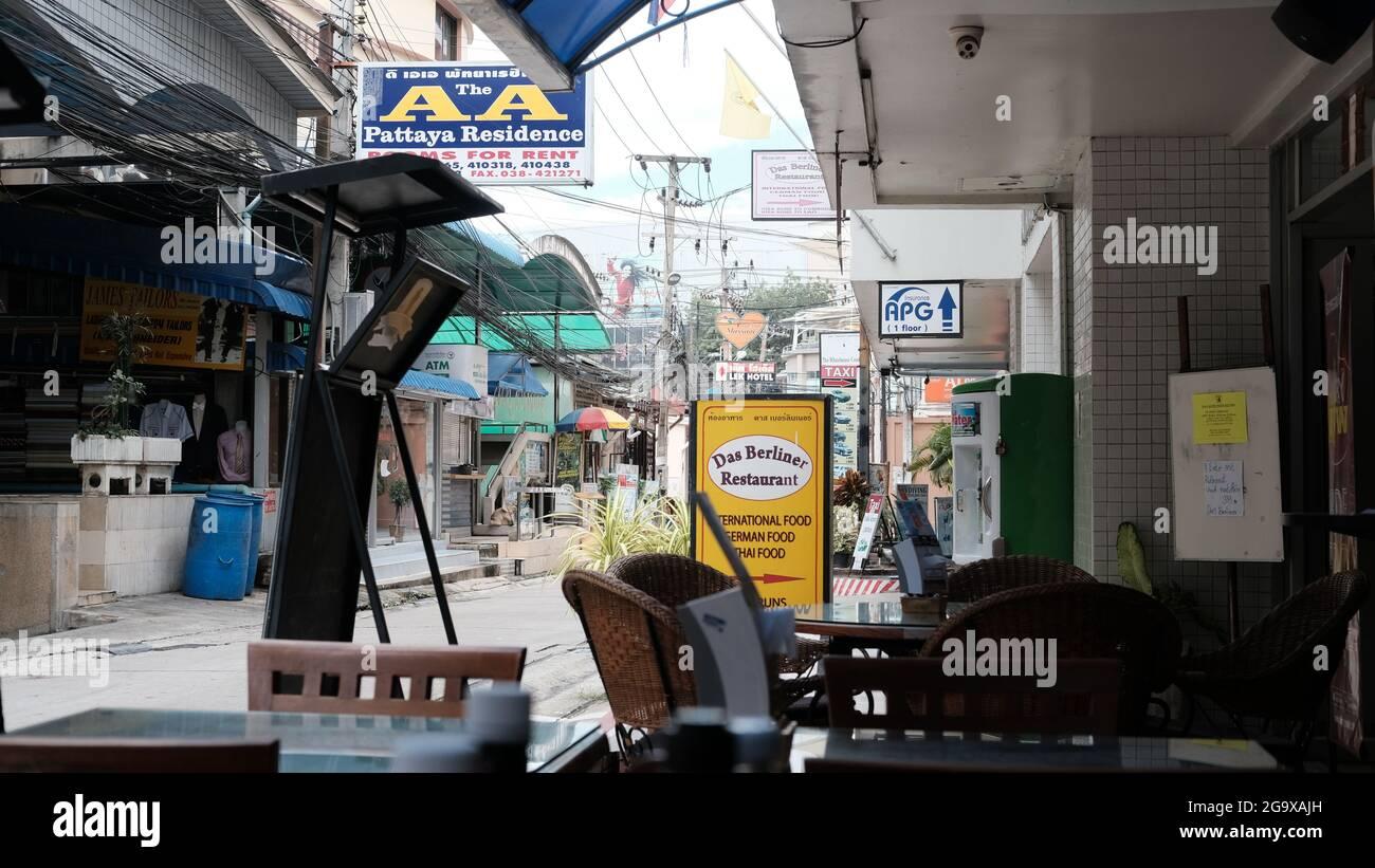 Pattaya 13 Alley, Muang Pattaya, Distrito Bang Lamung, Chon Buri 20150 Tailandia Foto de stock