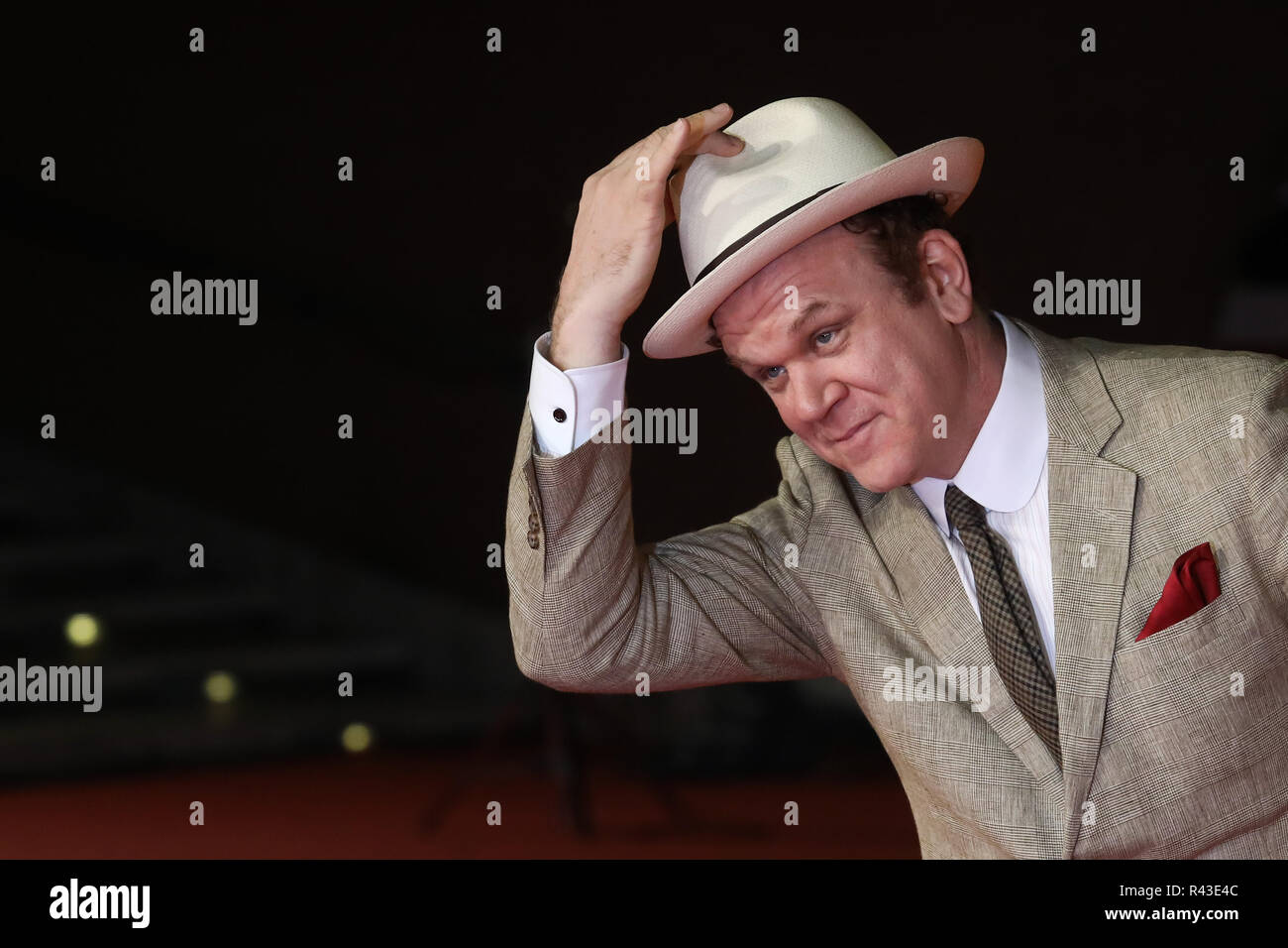 13th Rome Film Fest - 'Stan & Ollie' - Premiere  Featuring: John C. Reilly Where: Rome, Italy When: 24 Oct 2018 Credit: IPA/WENN.com  **Only available for publication in UK, USA, Germany, Austria, Switzerland** Foto de stock