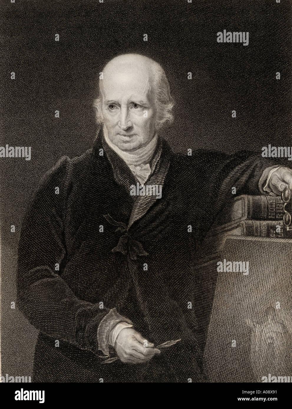Benjamin West, 1738 - 1820. La historia de la América del Norte británica pintor y presidente de la Real Academia. Imagen De Stock
