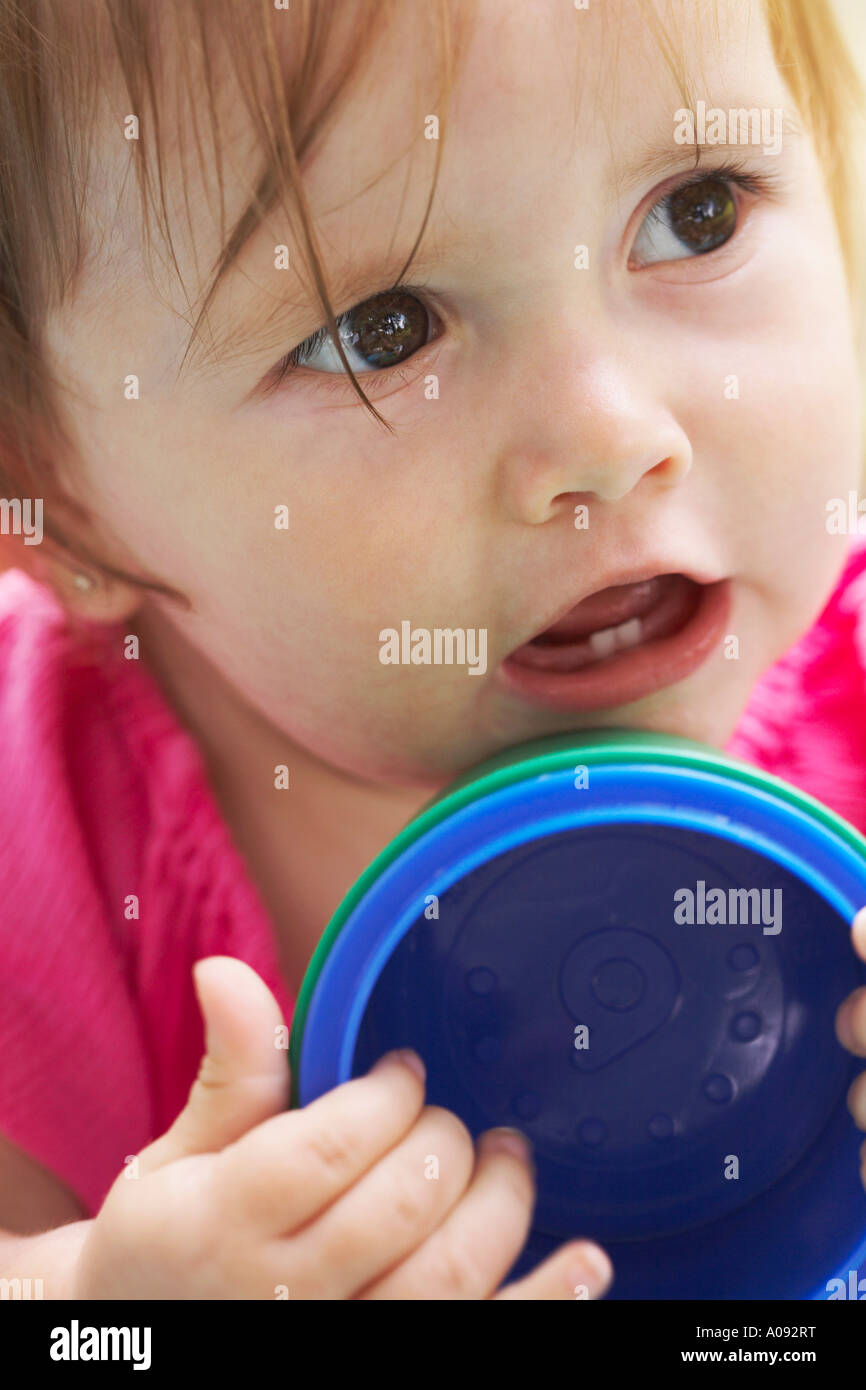 Retrato de bebé Foto de stock