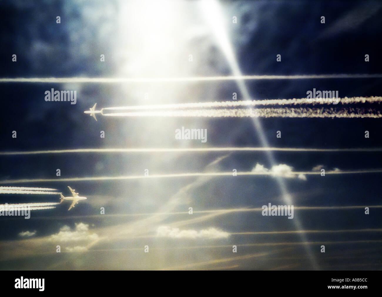 Aviones Imagen De Stock