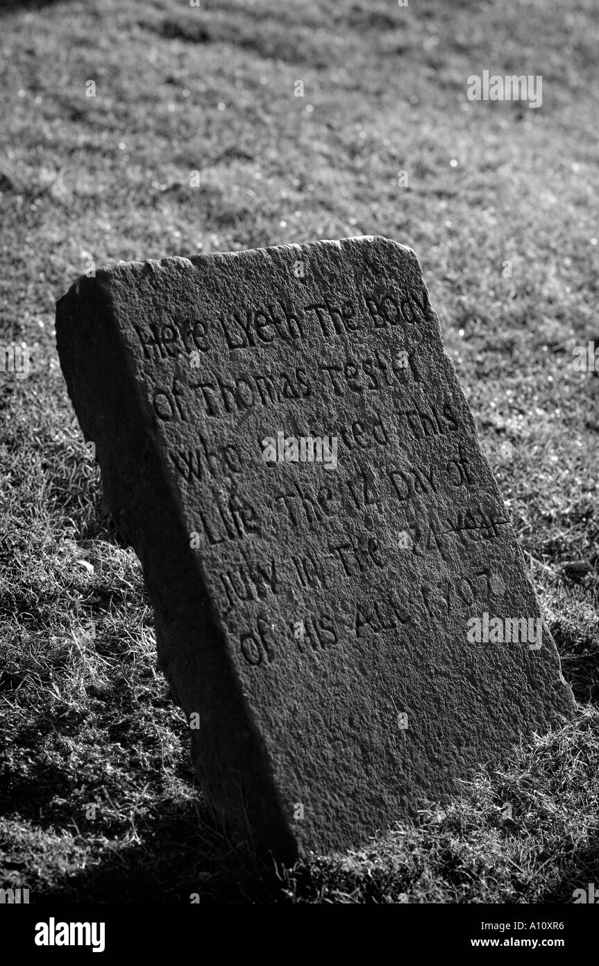 Cementerio Foto de stock