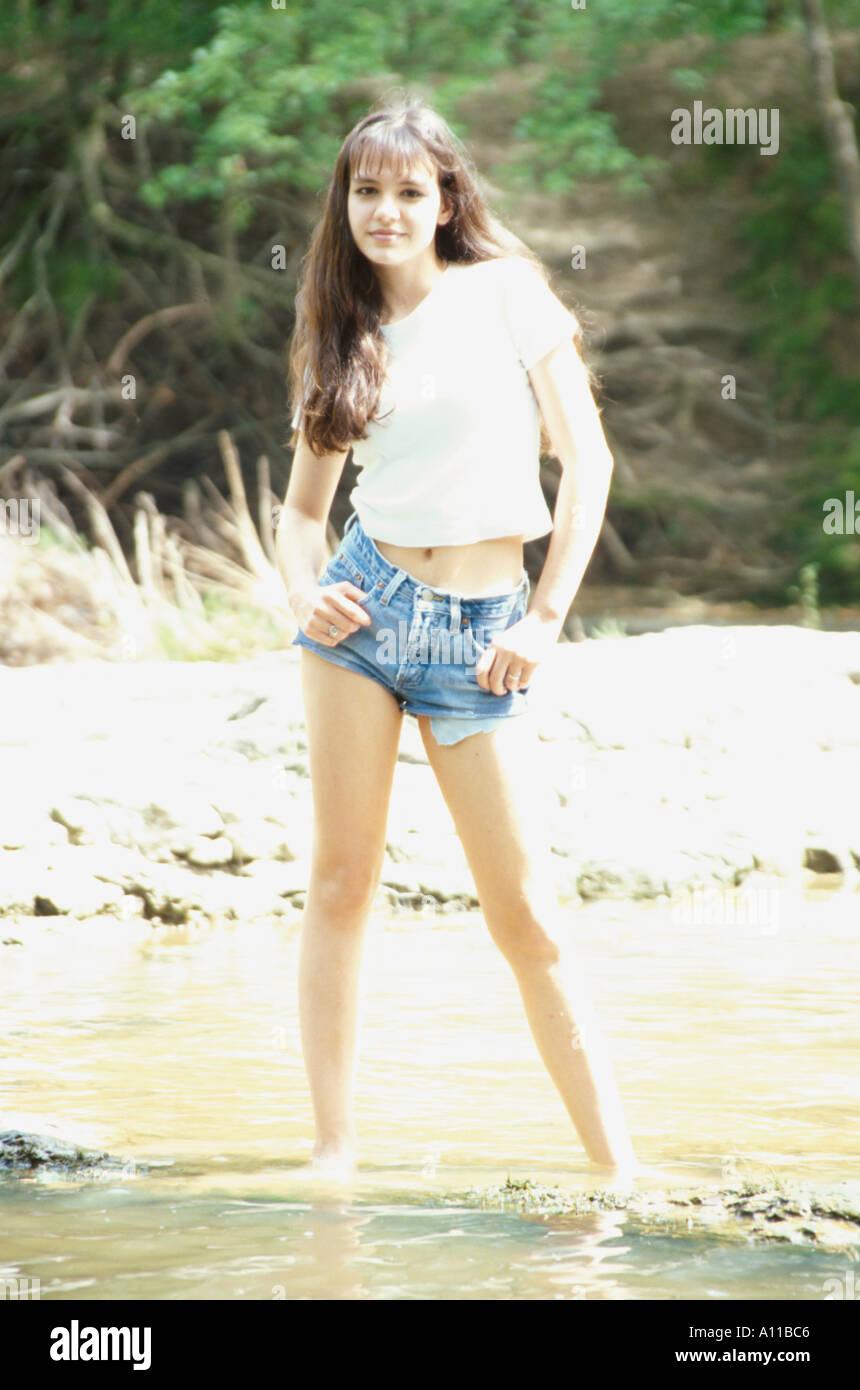 Marilyn Ball Teen Model Stock Photo: 72672 - Alamy