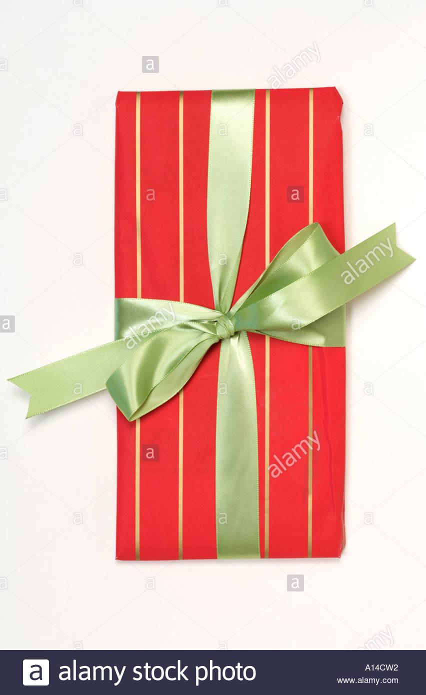 Envoltura de regalo presente Imagen De Stock