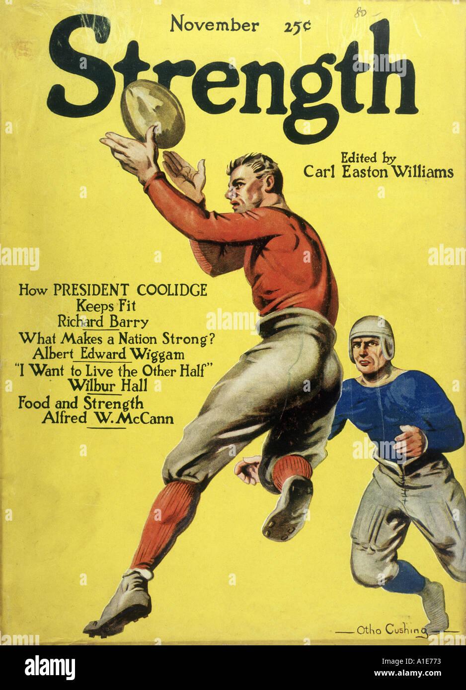 Fútbol Americano 1923 Imagen De Stock