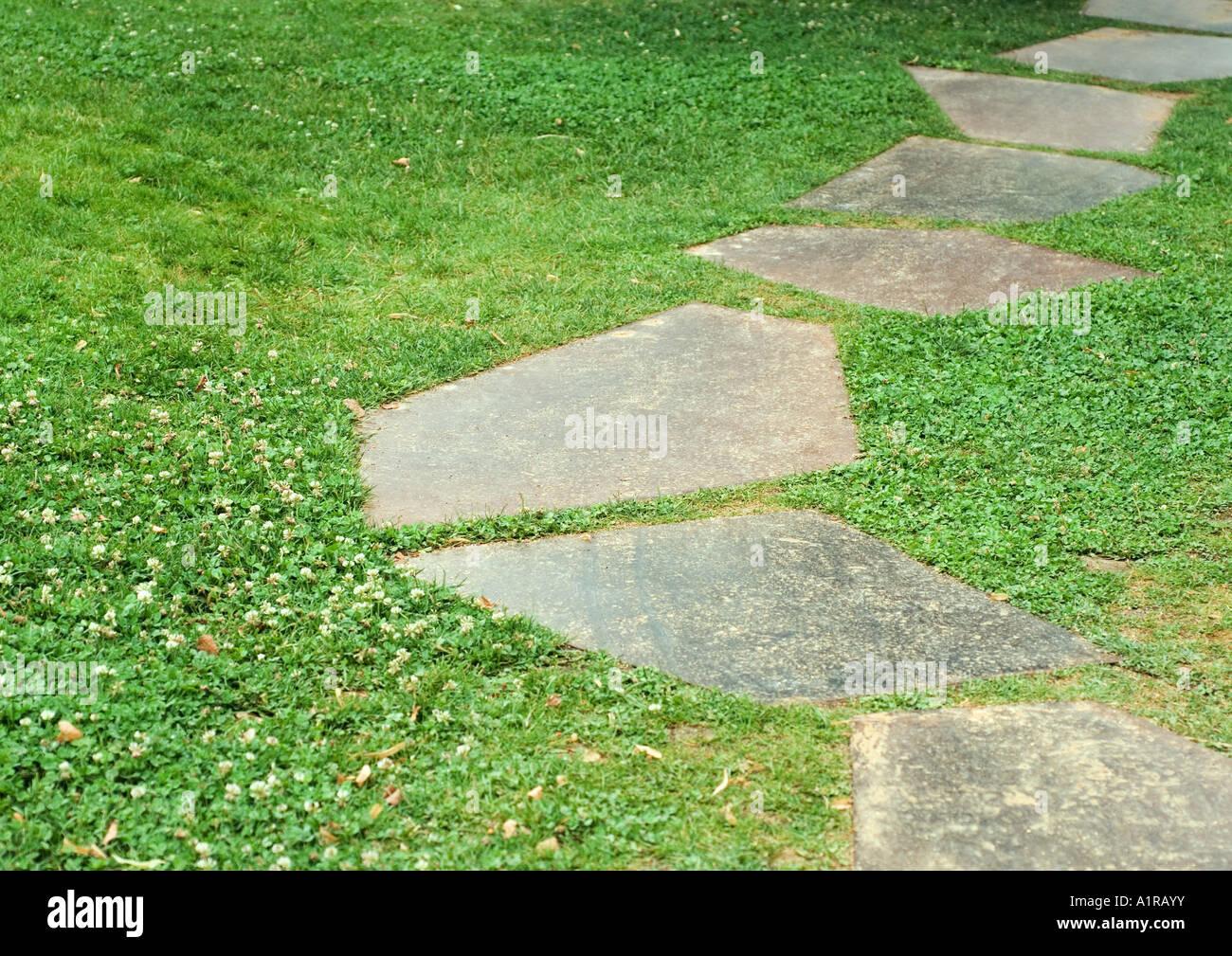 gaviones decorativos bali piedra natural gavion rojo El paisajismo, Stepping Stones Imagen De Stock