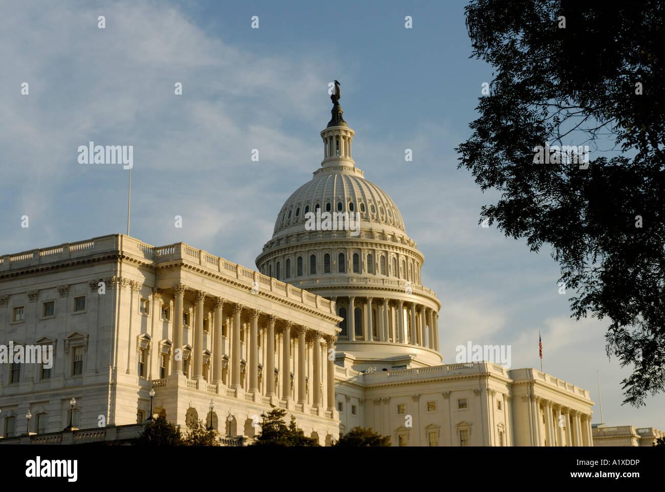 El edificio del Capitolio de los Estados Unidos ESTADOS UNIDOS Imagen De Stock