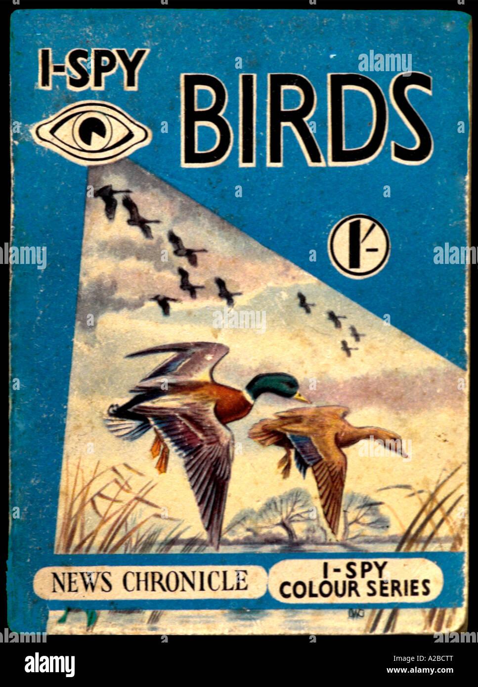 I-Spy Libros 1950 1960 para uso editorial sólo Imagen De Stock