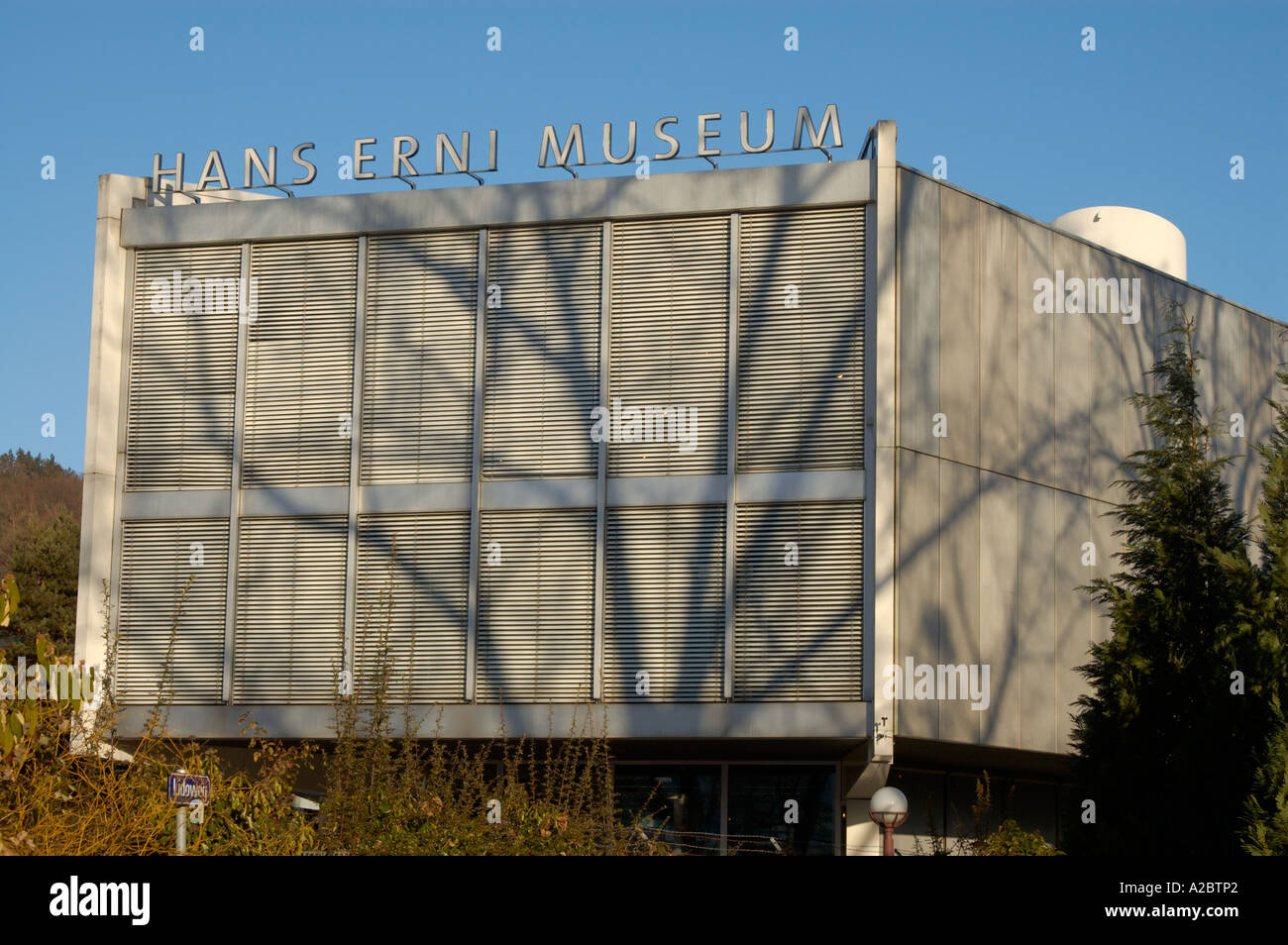 Museo Hans Erni en Lucerna, Suiza. (C) por Uli nusko, CH-3012 Bern Foto de stock