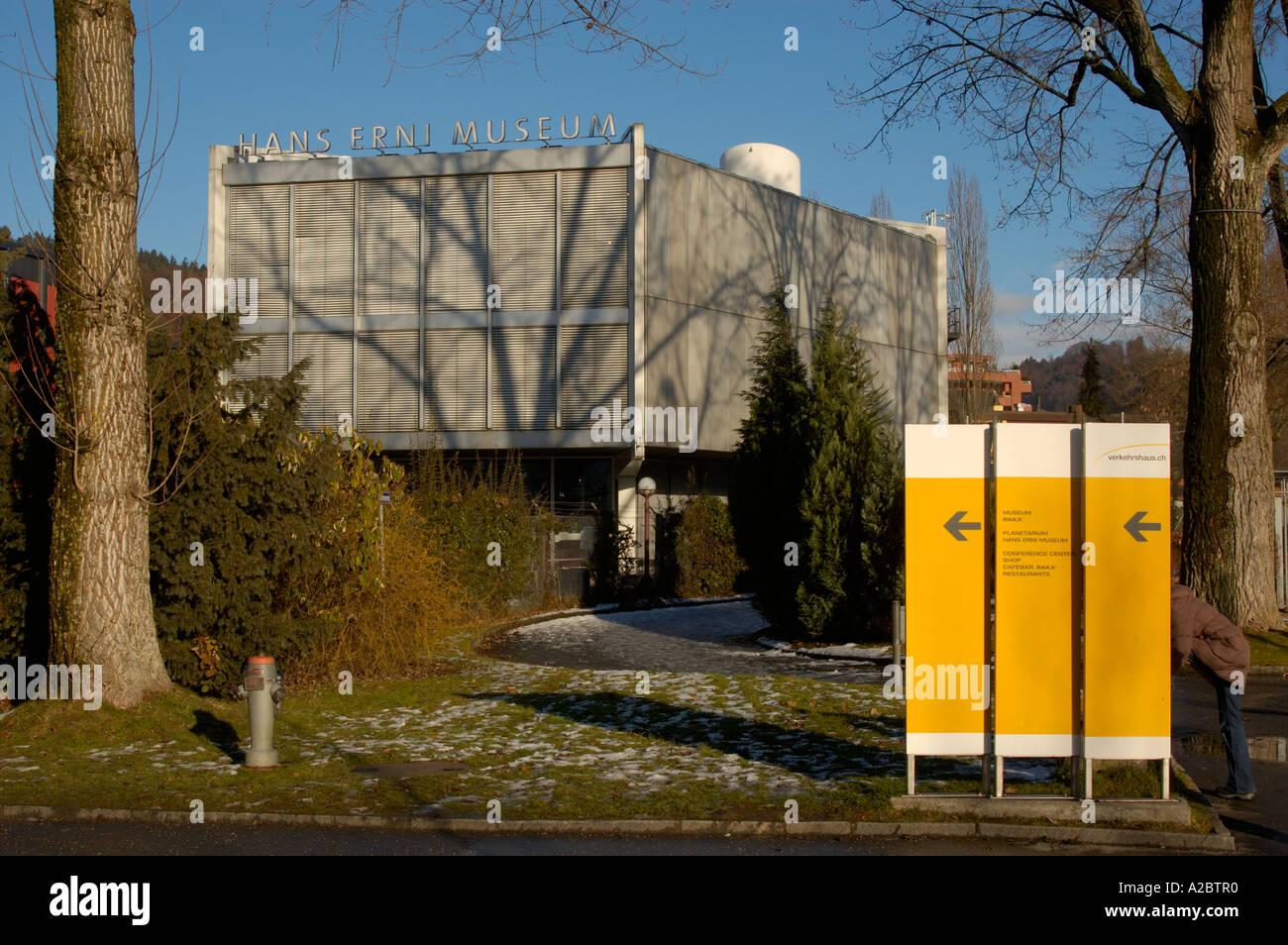 Museo hans erni en Lucerna, Suiza. ( C) uli nusko, CH-3012 Bern Foto de stock