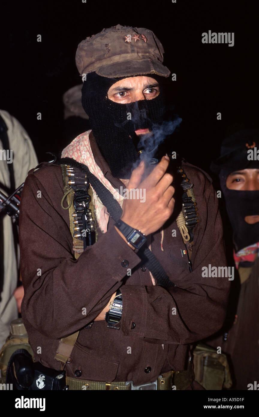 El Subcomandante Marcos, líder del EZLN Chiapas México Foto & Imagen ...