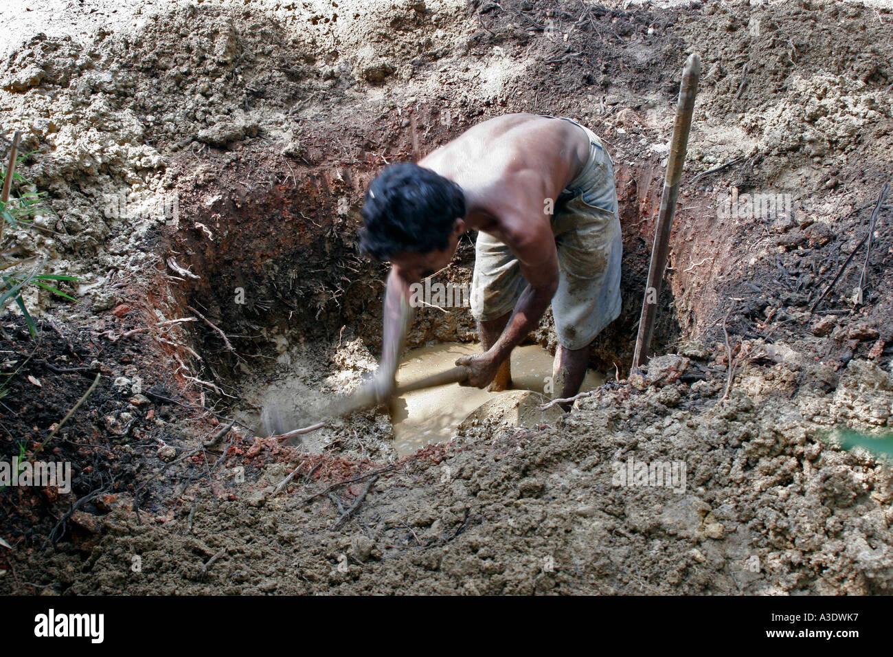 Resultado de imagen de cavar un pozo