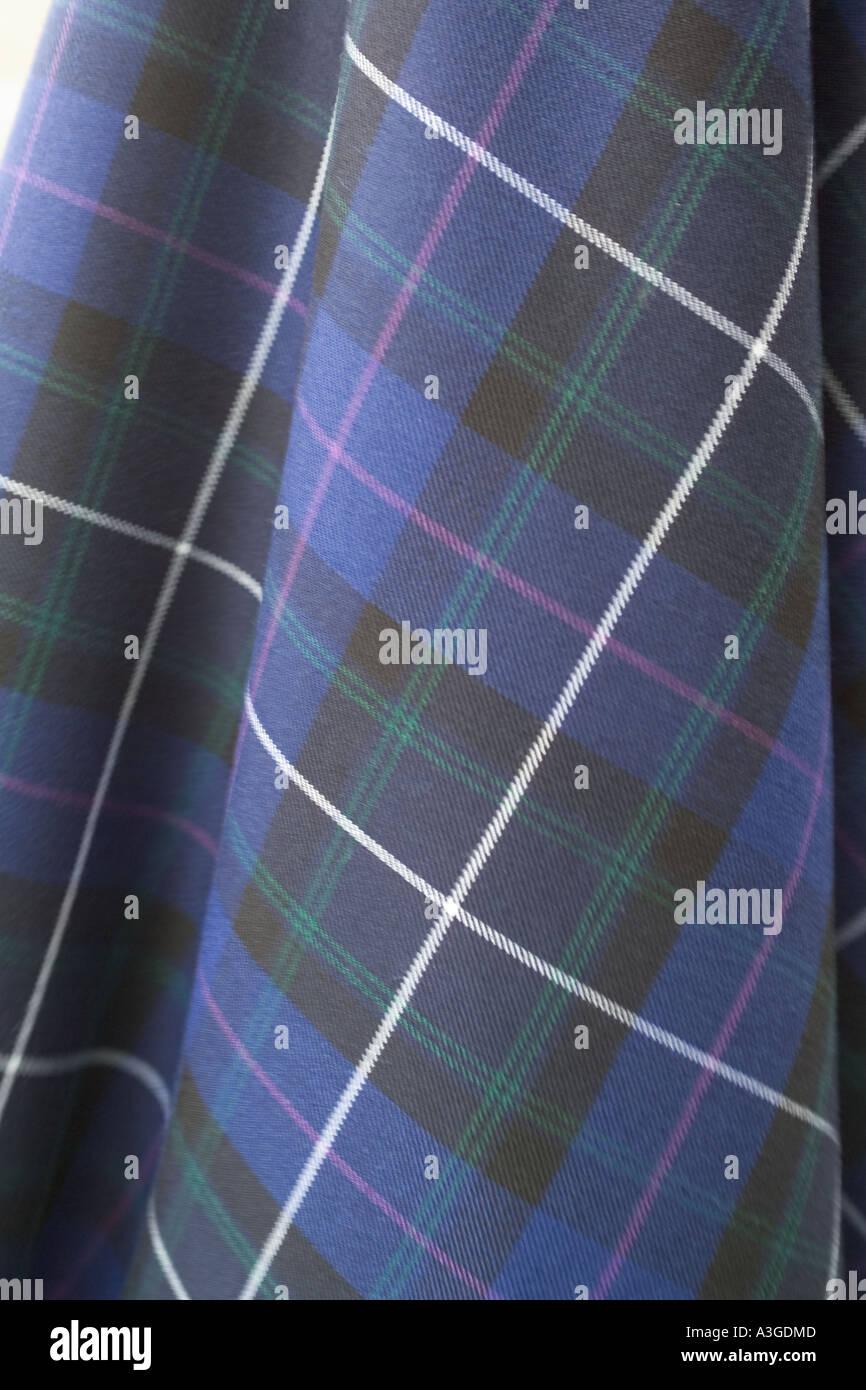 Tela escocesa de tartán Imagen De Stock