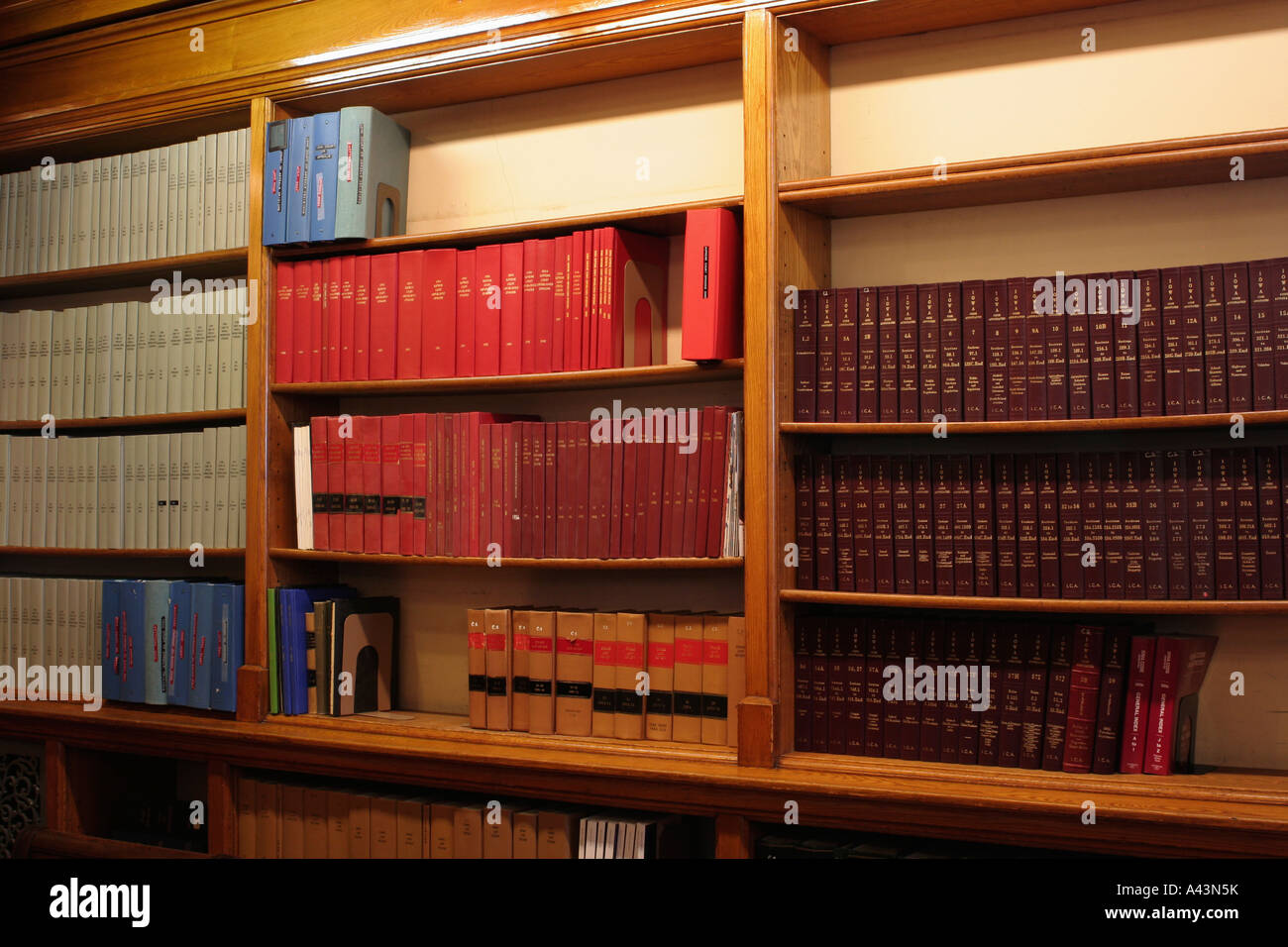 La Biblioteca de derecho, el edificio del Capitolio en Des Moines, Iowa Foto de stock