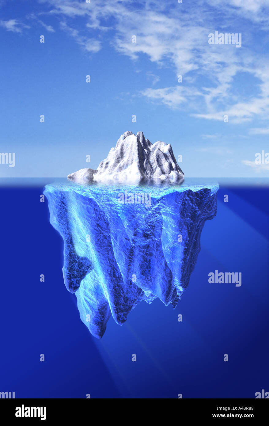 Iceburg Imagen De Stock