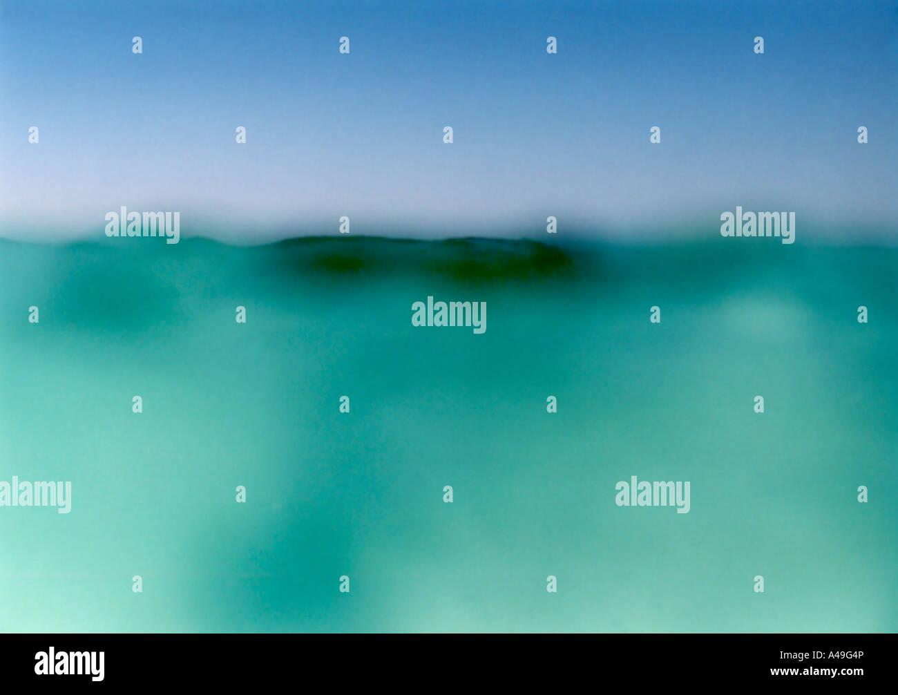 Superficie del agua Imagen De Stock