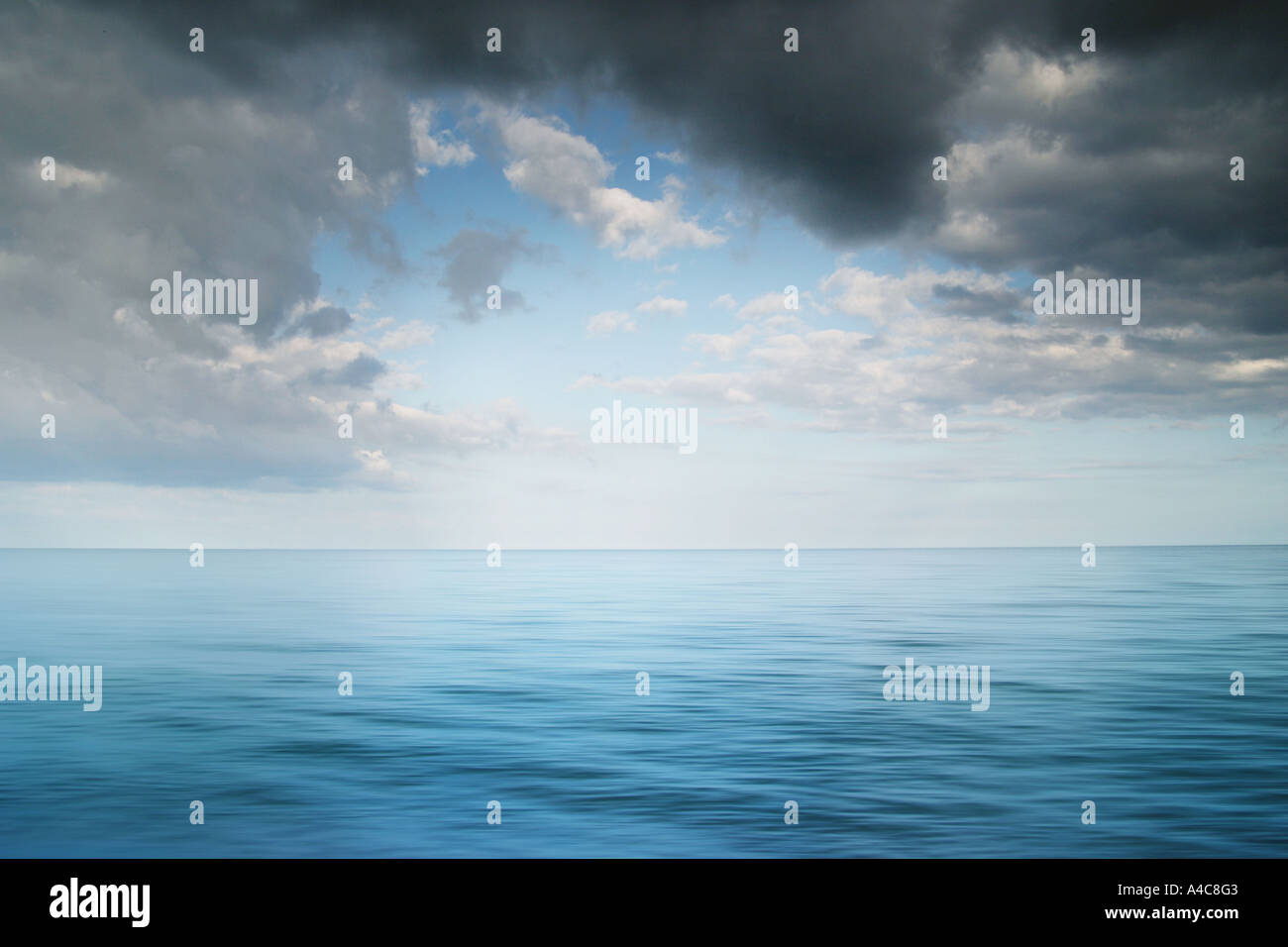 mar en calma Imagen De Stock