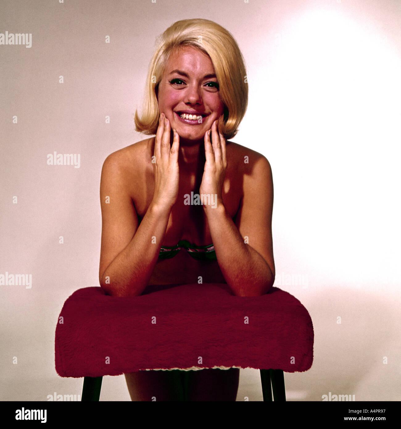 Modelo Femenino 1960 Imagen De Stock