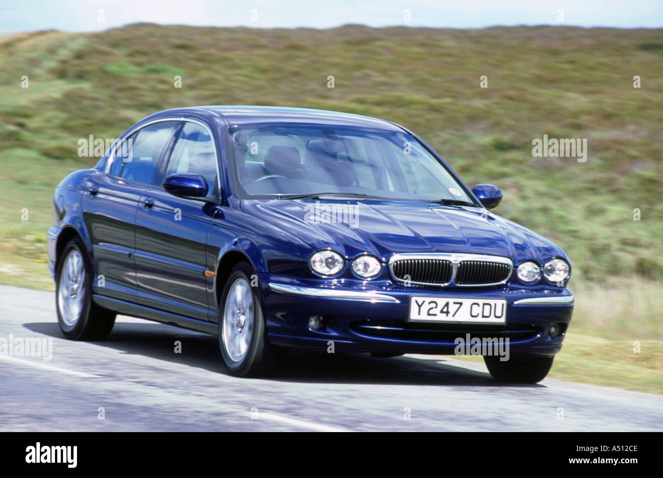 2001 Jaguar X Type 2.5 Foto de stock