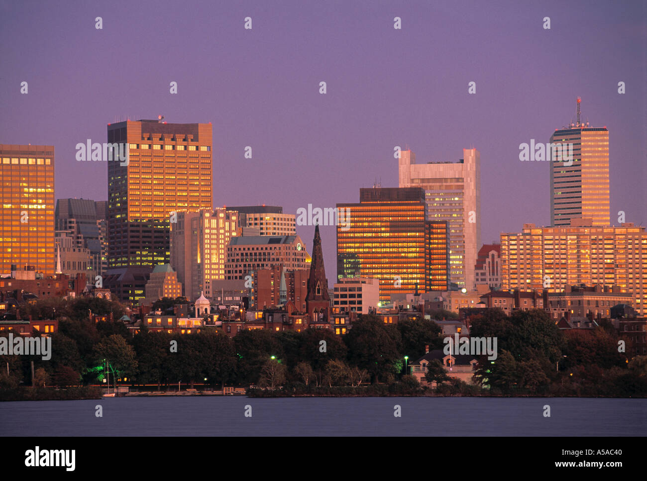 Boston, Massachusetts, EE.UU. Foto de stock