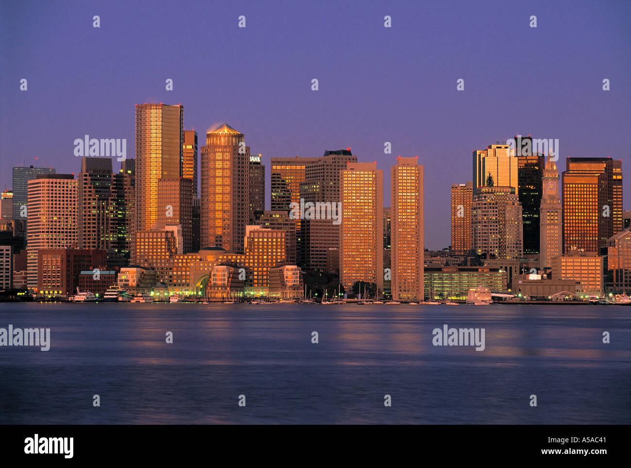 Boston, Massachusetts, EE.UU. Imagen De Stock
