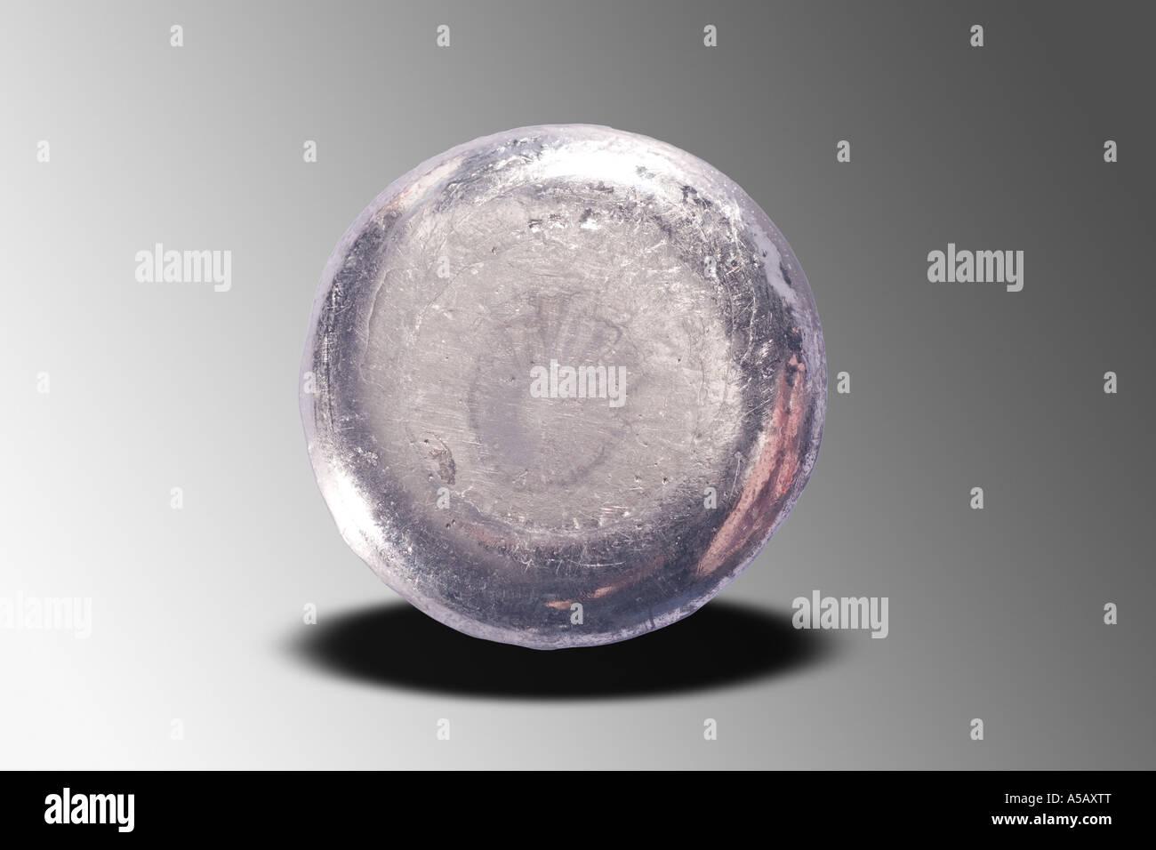 Lingote de plomo elemental Imagen De Stock