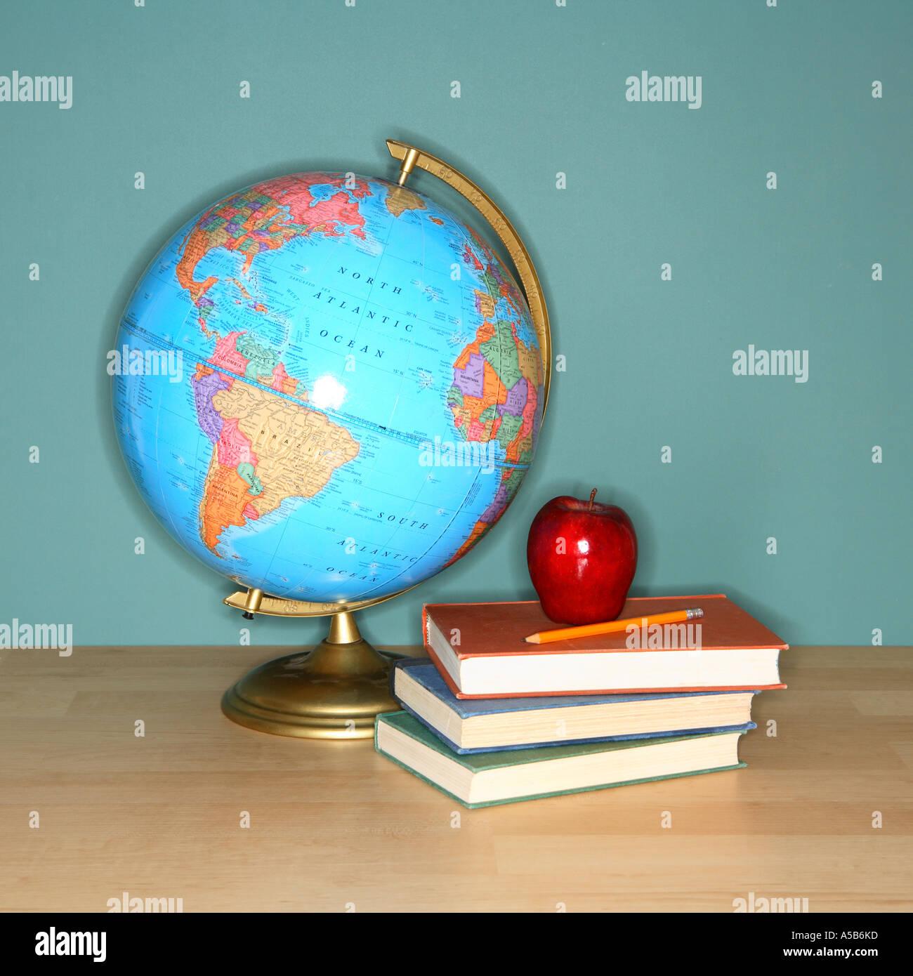 Todavía la vida escolar Imagen De Stock