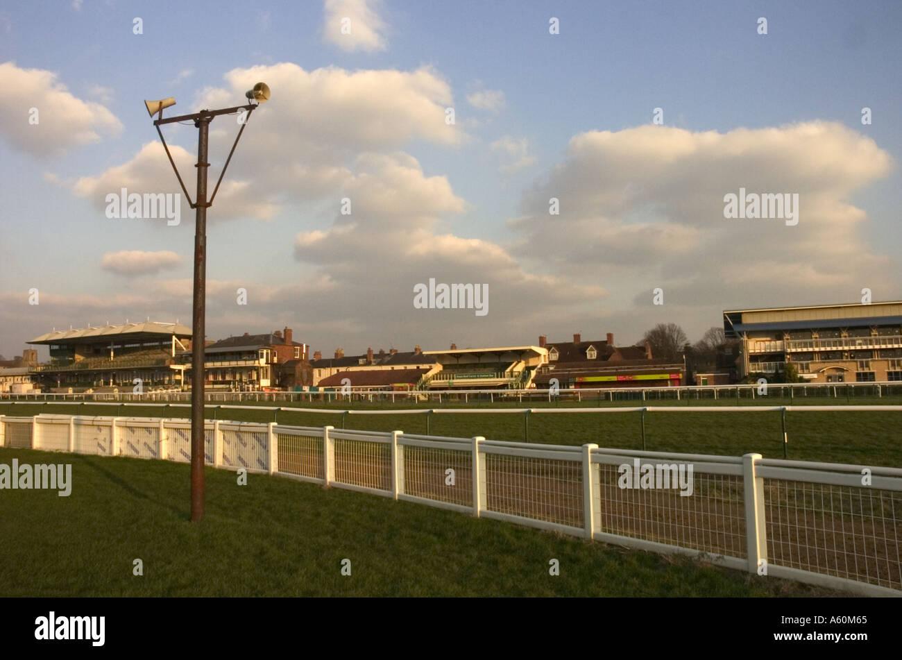 Warwick Racecourse Imagen De Stock