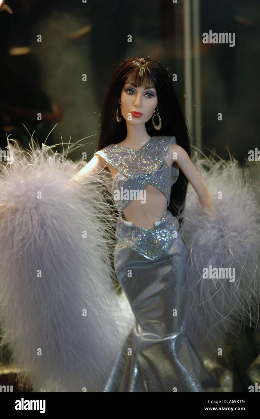 Muñeca Barbie como Cher Imagen De Stock