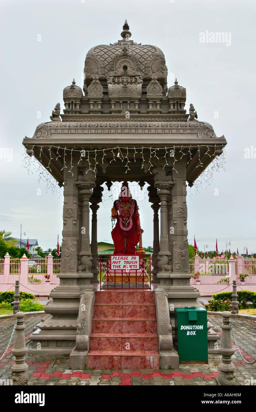 Waterloo, ciudad hindú, Trinidad, el Caribe Imagen De Stock