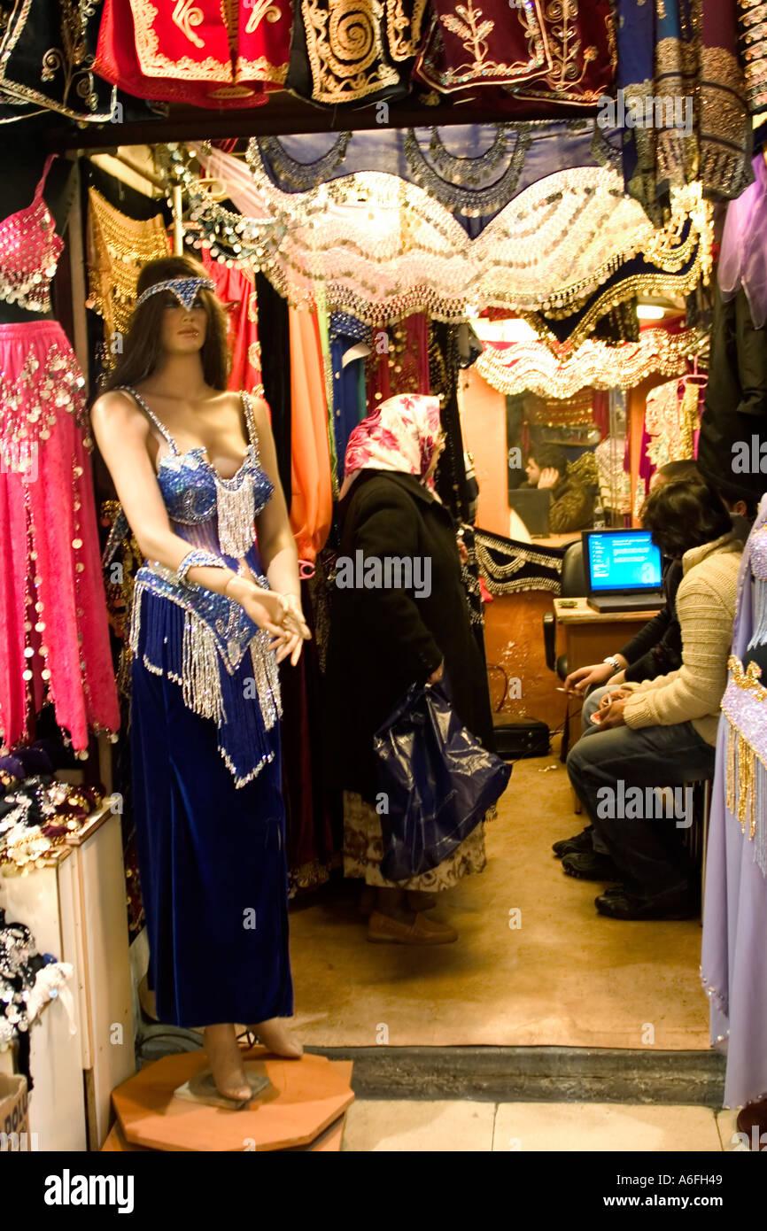 new style 275b3 9152f Compras para la danza del vientre, el Gran Bazar de Estambul ...