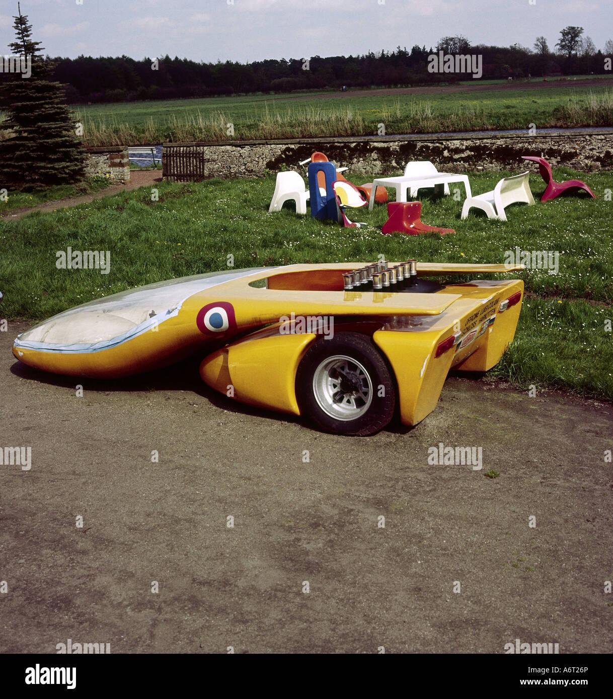 Transporte / Transporte, coche, vehículo variantes, coche deportivo, cuerpo de auto estudio por Luigi Colani Imagen De Stock