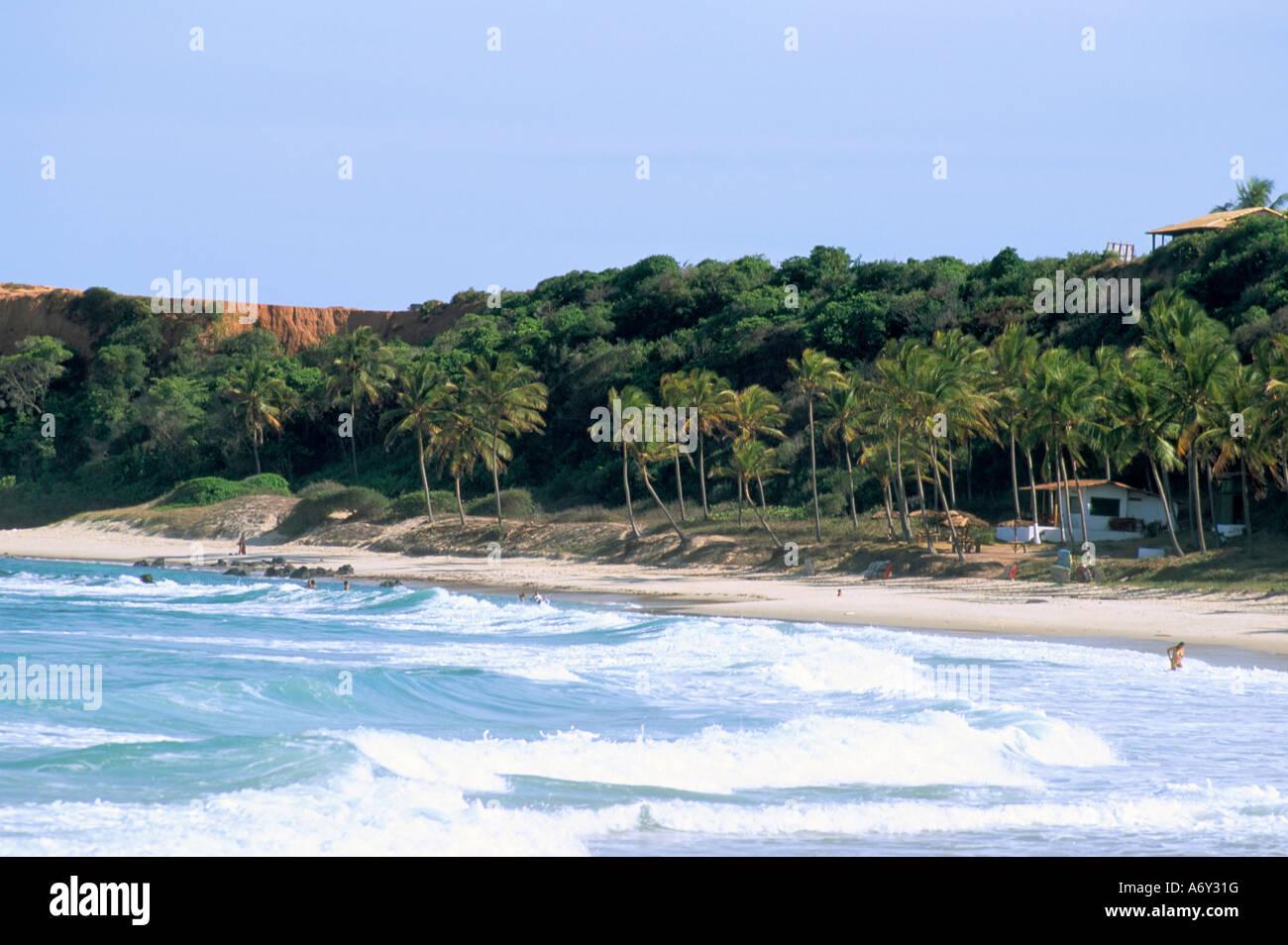 Praia do Amor Pipa Natal, estado de Rio Grande do Norte Brasil América del Sur Imagen De Stock