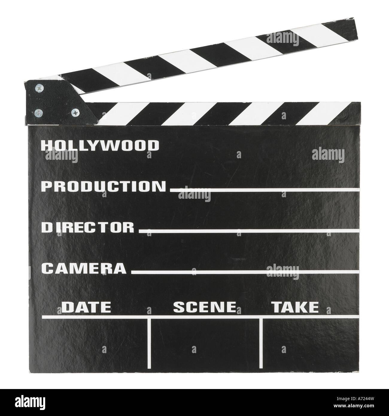 Badajo junta para película toma las películas Imagen De Stock