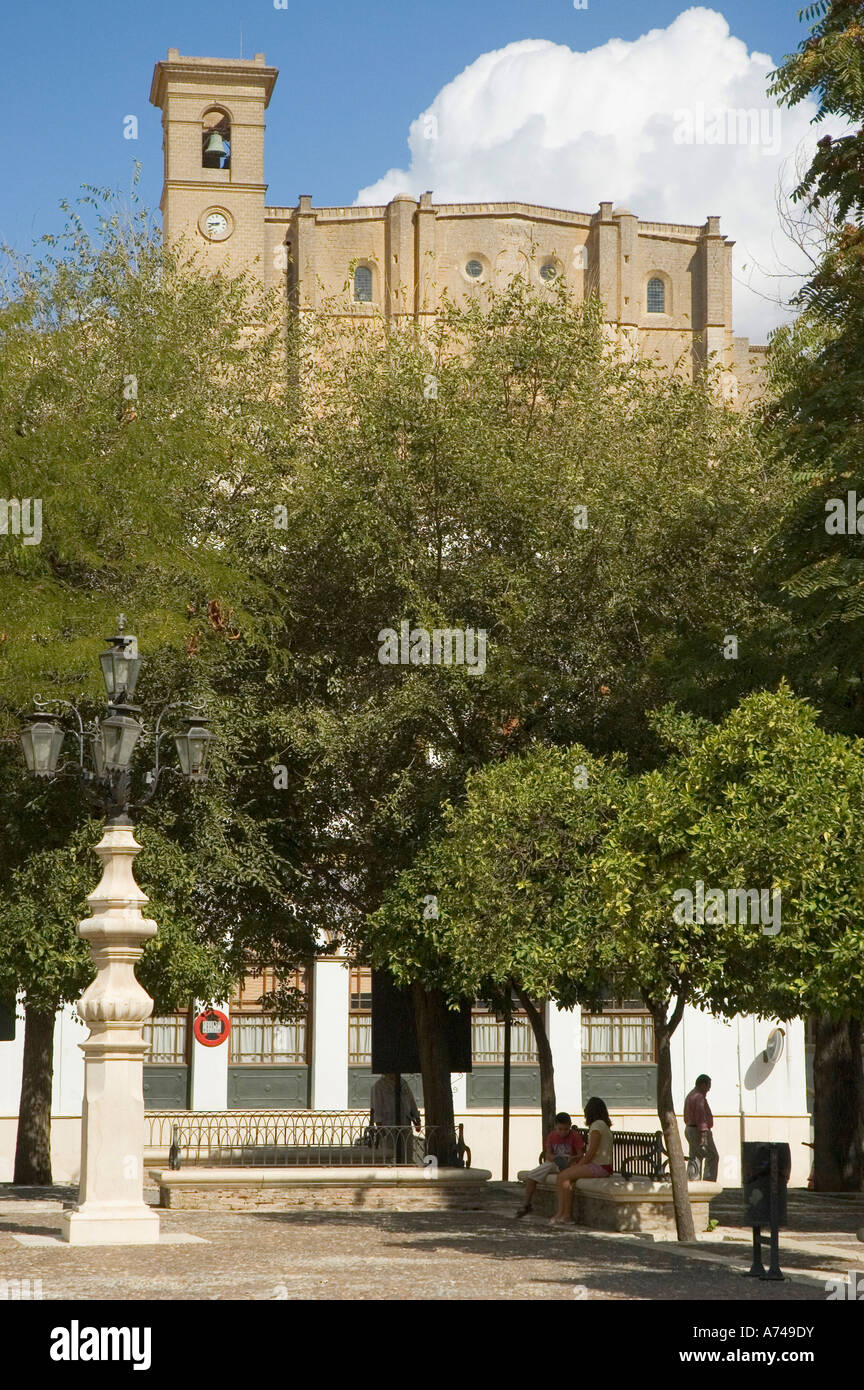 Iglesia colegial de Osuna provincia de Sevilla Andalucía España Imagen De Stock