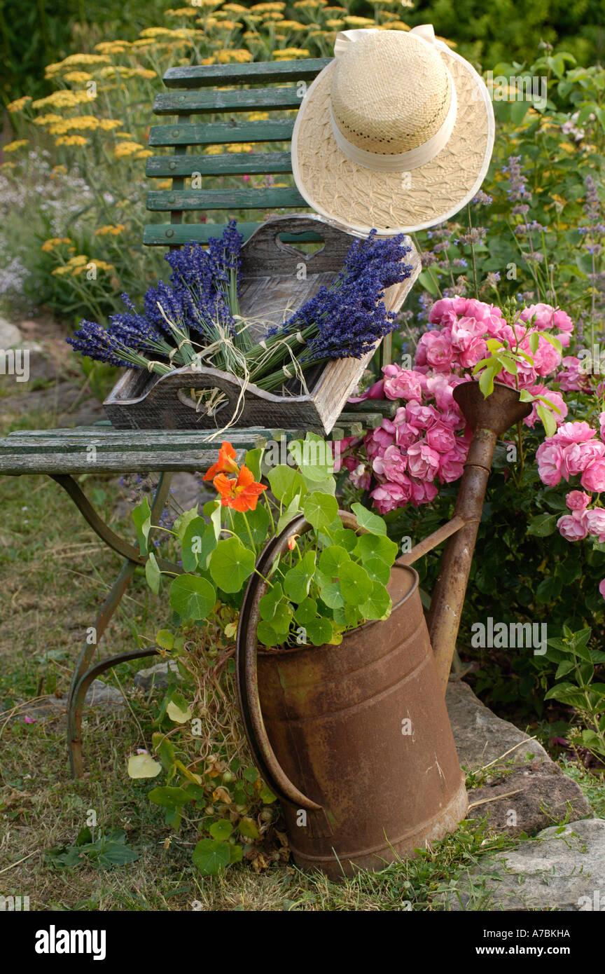 Jardín bodegón Imagen De Stock