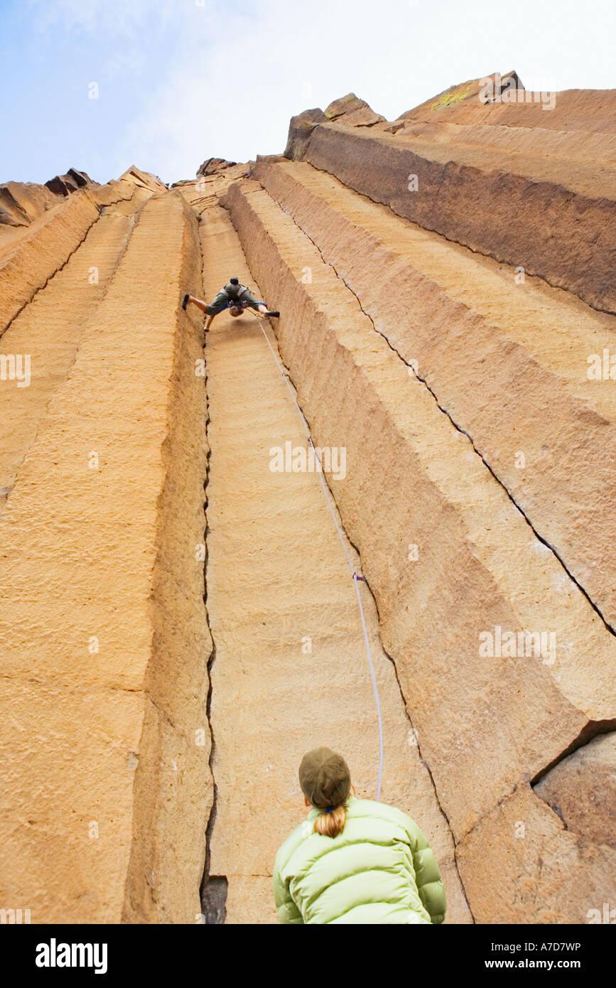 Trucha de escalada Creek Oregón EE.UU. Imagen De Stock