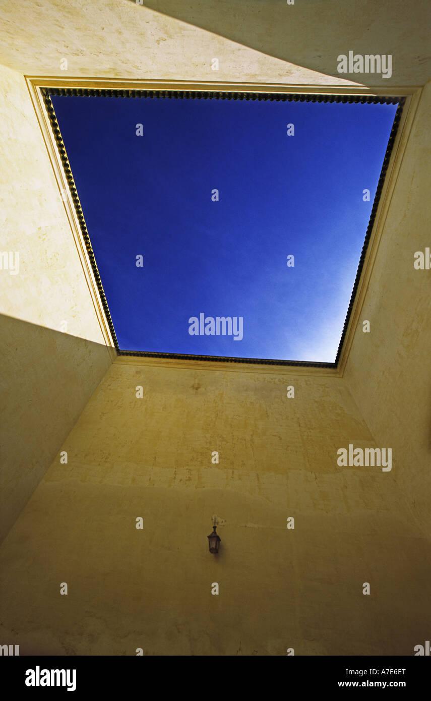 Mausoleo de Moulay Ismail, la ciudad de Meknes Marruecos Imagen De Stock