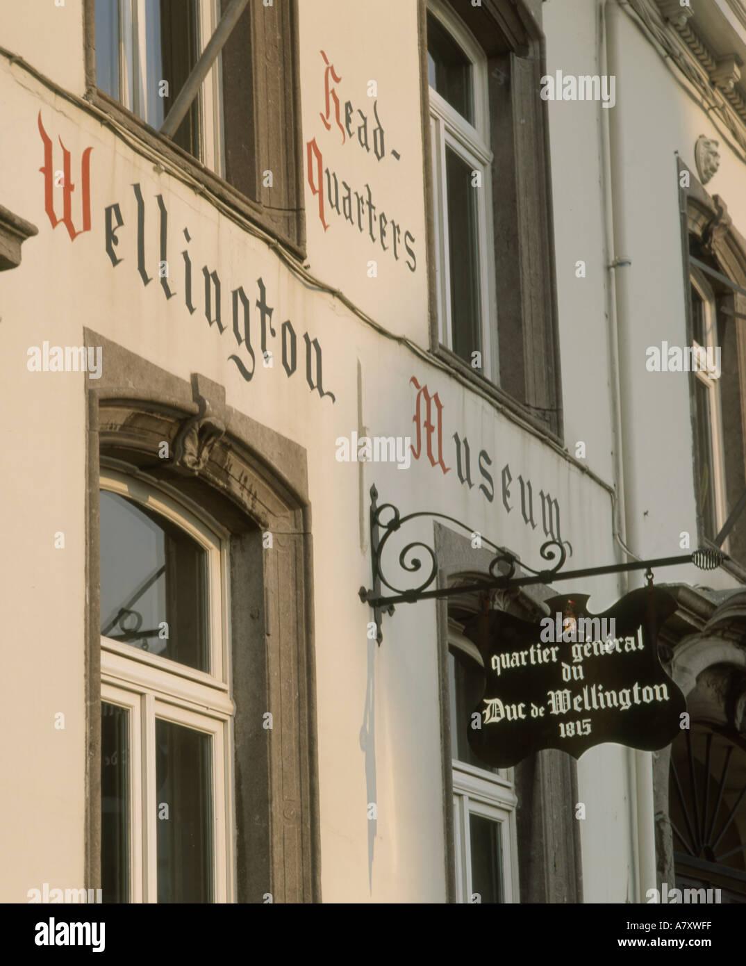 Bélgica Waterloo Wellington s sede Imagen De Stock