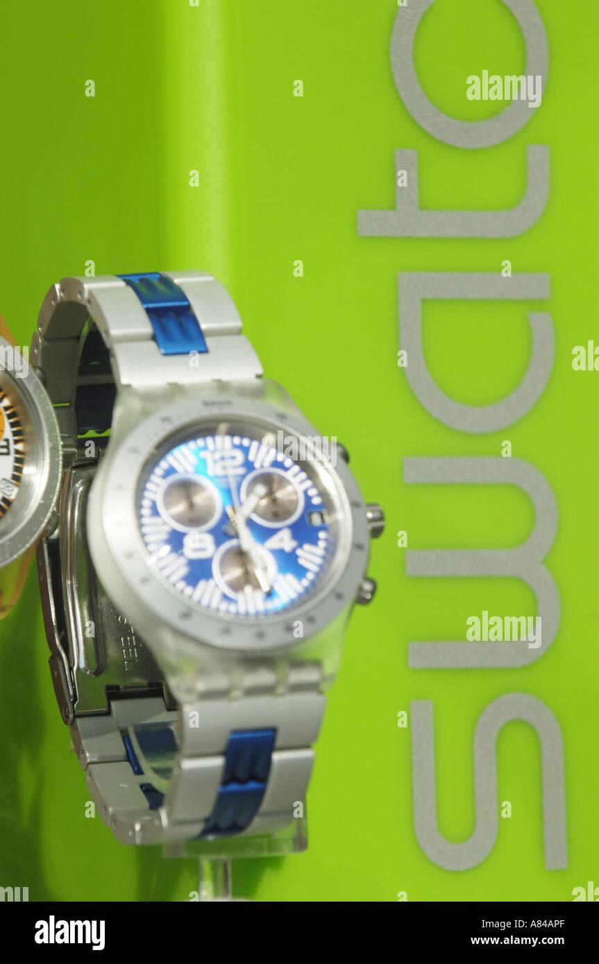 Pulsera Juventud Reloj Swatch De Verde Temporal Tiempo Fondo Relojes DHE2I9