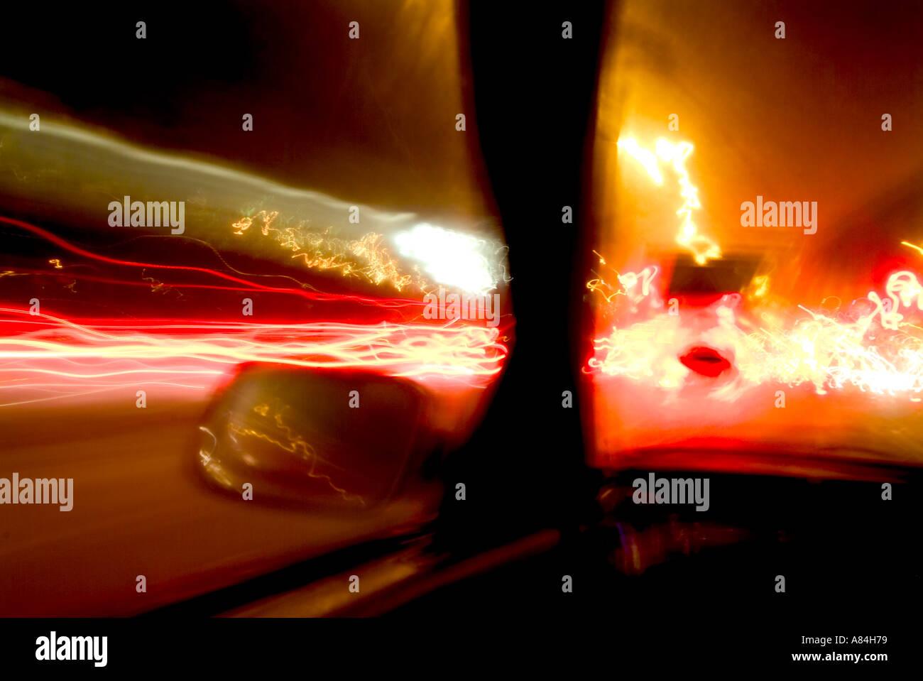 luz abstracta Imagen De Stock