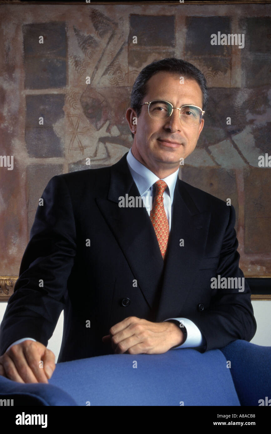 Ernesto Zedillo Ex Presidente De México En La Residencia