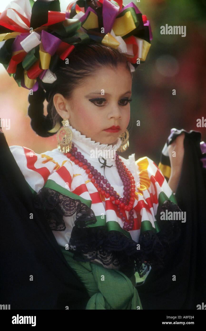Vestidos Niña Mexicana Para La Celebración Del Cinco De Mayo