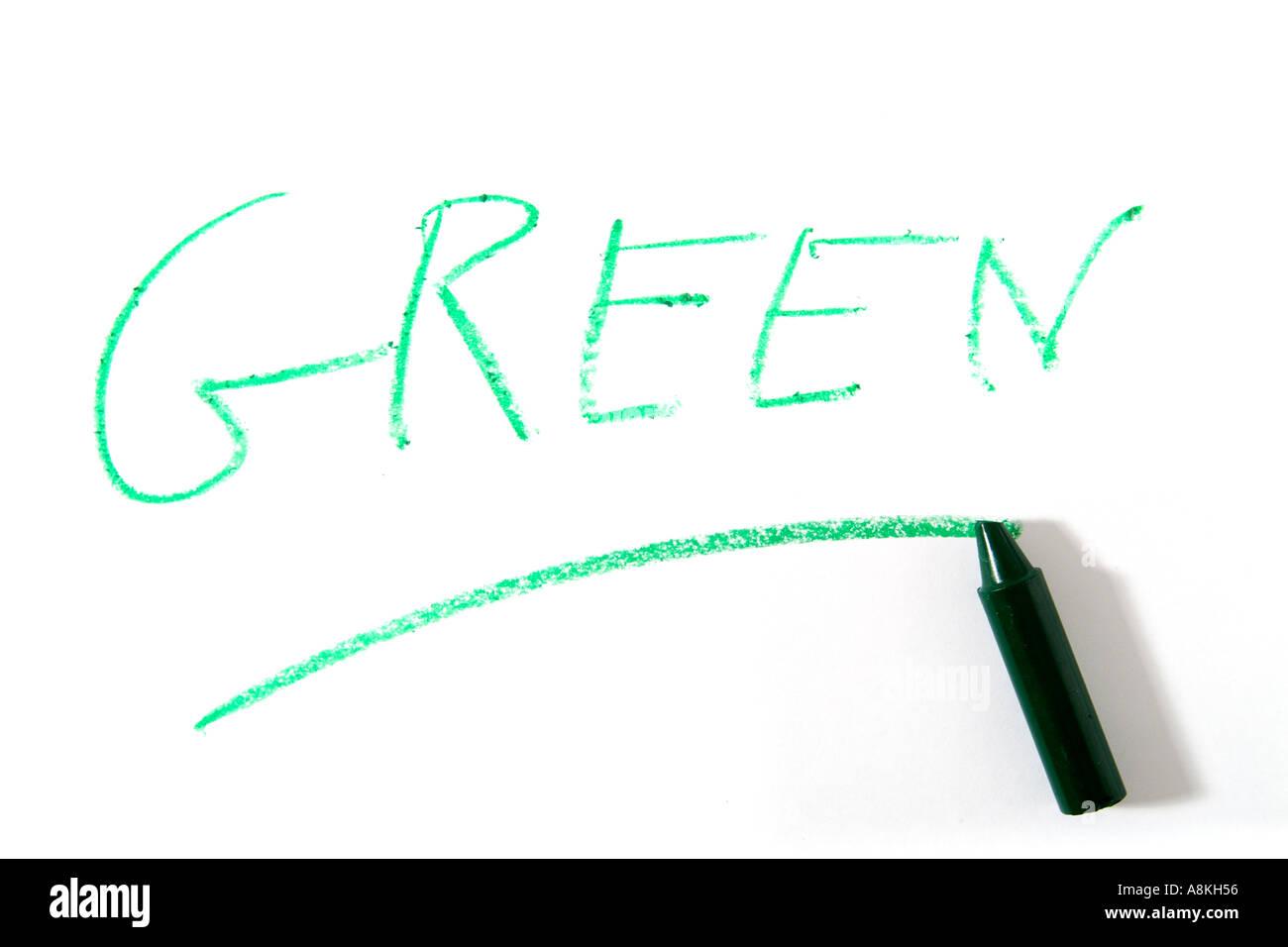 Papelera De Reciclaje Medio Ambiente Verde Lápiz Para