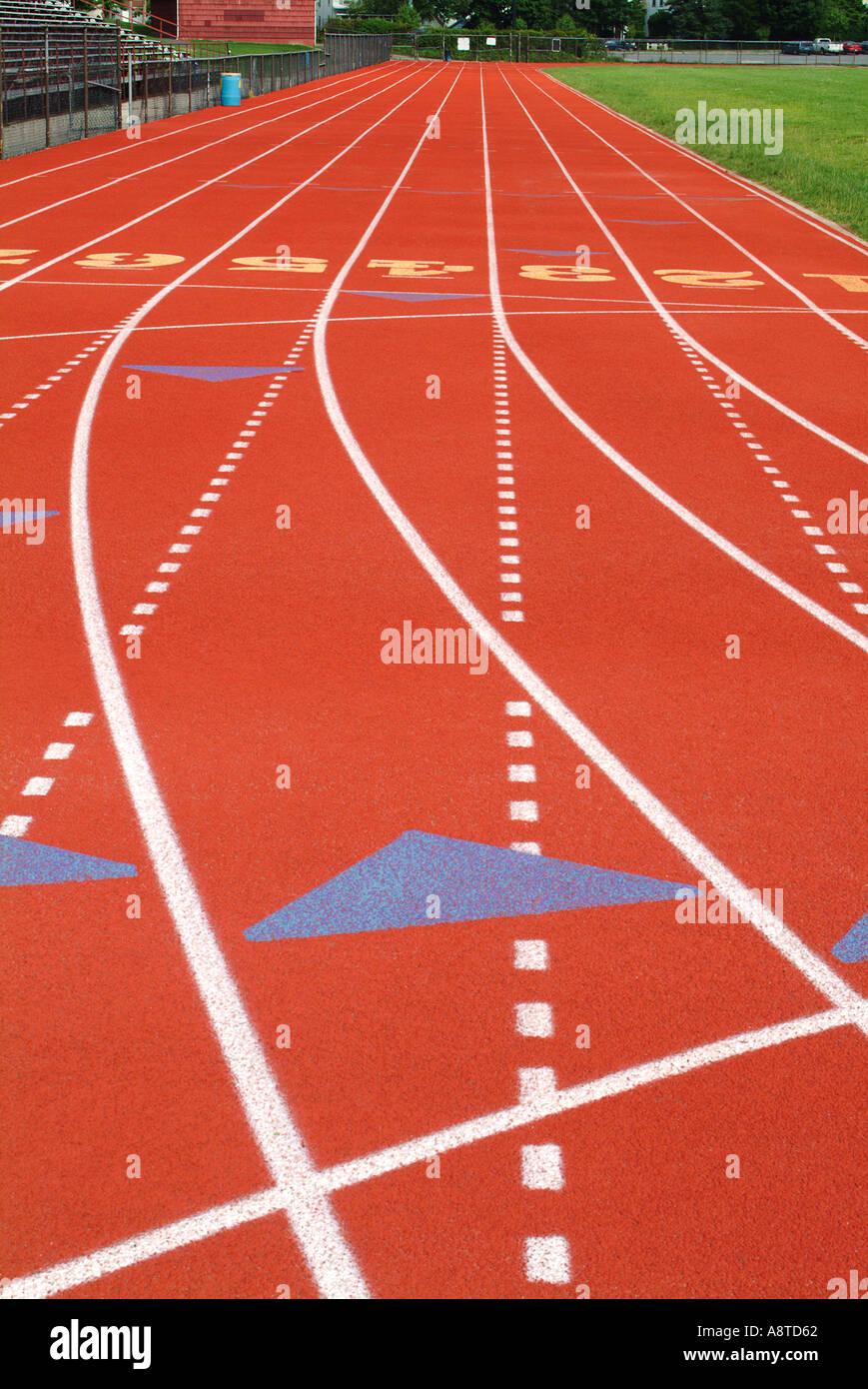All Weather Running Track Imagen De Stock
