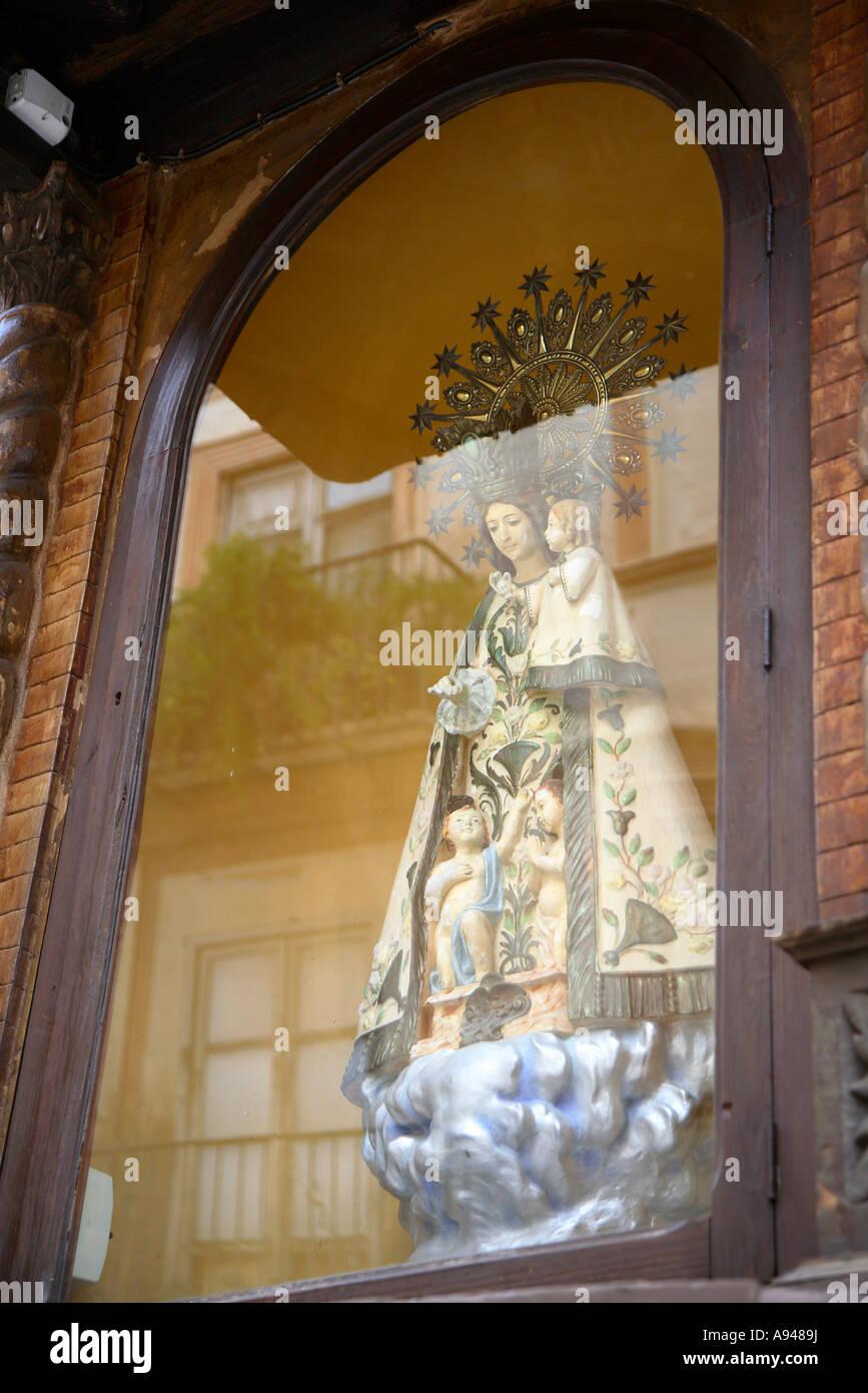 Fotografía de viajes desde Játiva Xativa Xàtiva Valencia provincia de España Imagen De Stock