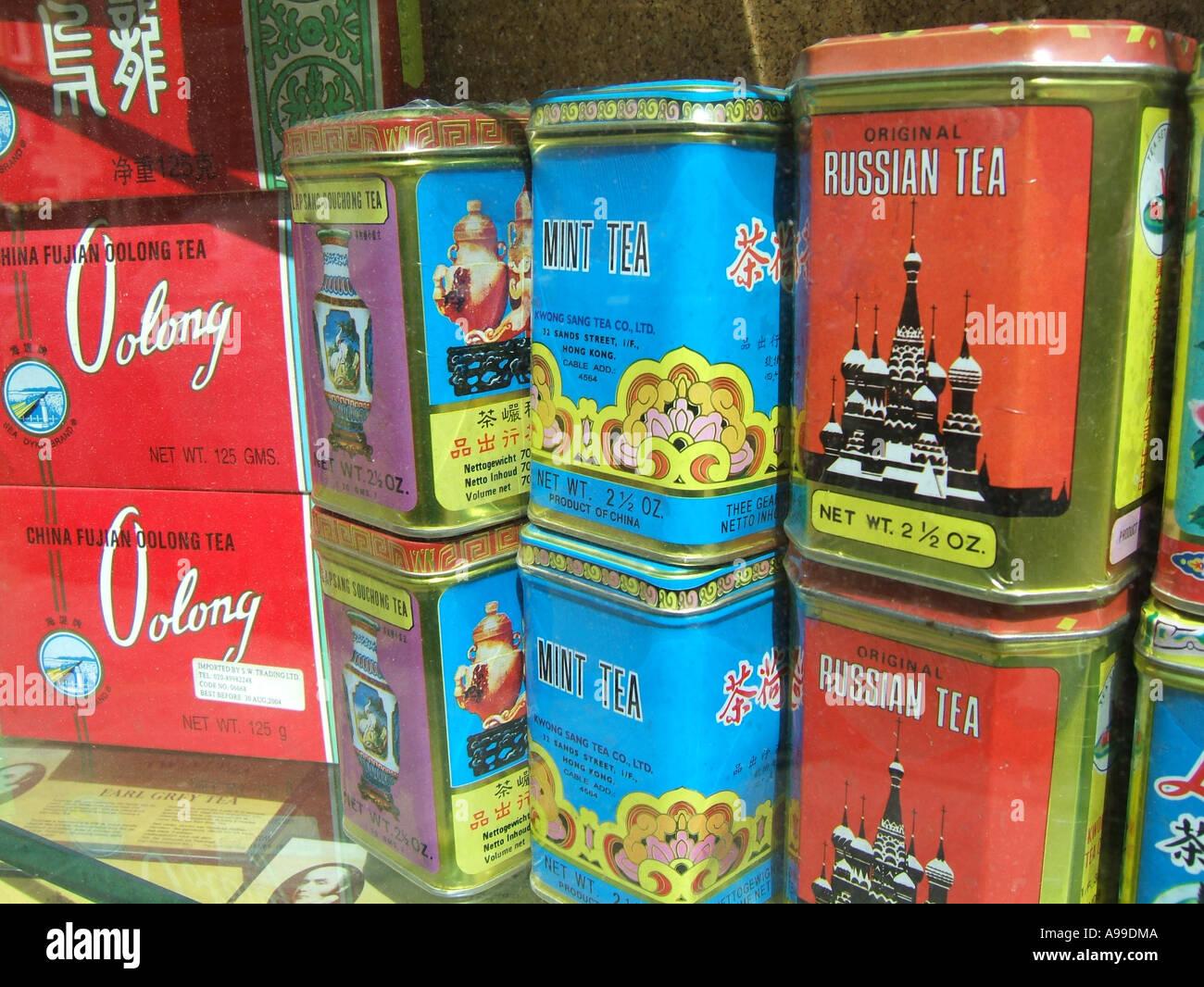 Selección de tés en la tienda Foto   Imagen De Stock  7025417 - Alamy 5c30826659e5