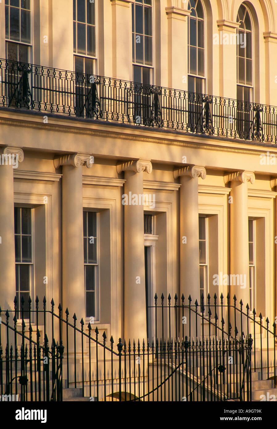 Regency casas nr Regents Park Londres Inglaterra Imagen De Stock