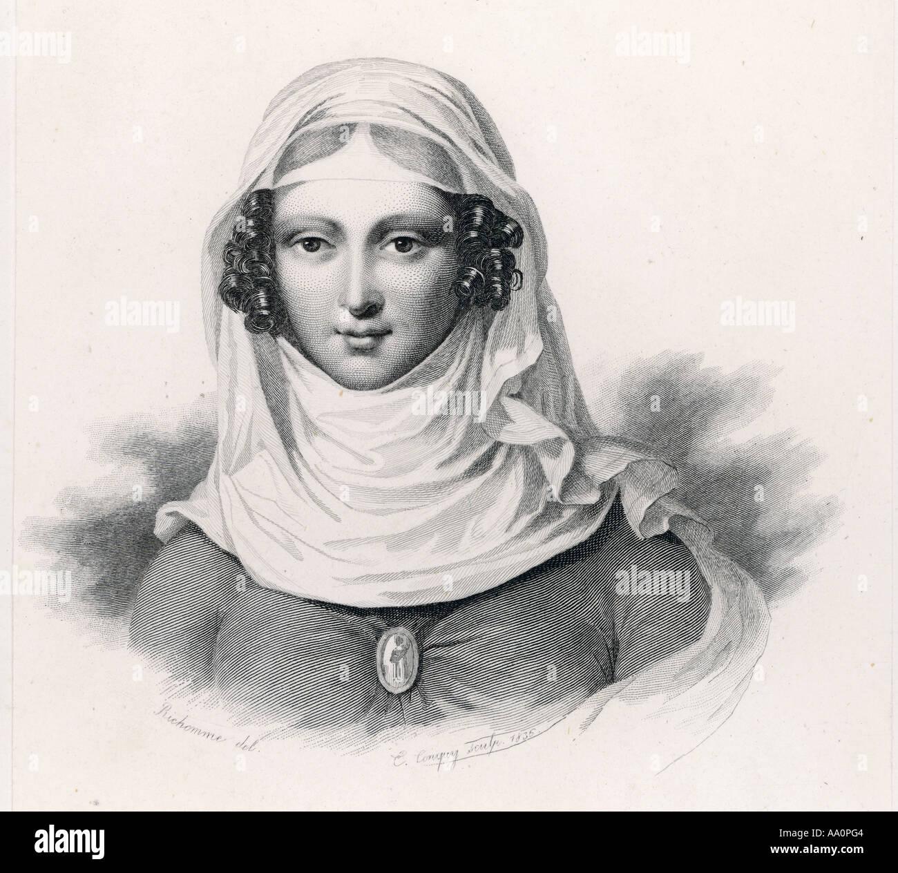 Clemence Isaure B+W Imagen De Stock